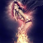 Nina Santiago @NinaUnrated - Fan The Flames - New Graphics from Goonrilla World