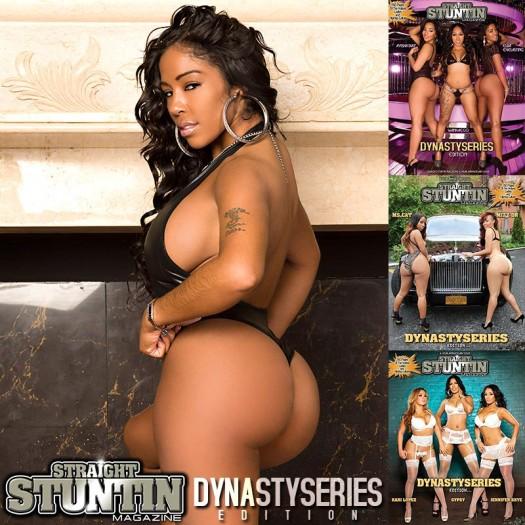 Elba Everlasting @ElbaEverlasting in DynastySeries Issue of Straight Stuntin