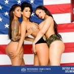 Tatted Up Holly, Egypt SeLinda and V Banks: Indepedence Day - Pics and Behind the Scenes Video
