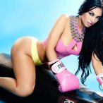 Stephany Romero @BolivianbarbieP on cover of Hips On Deck - GoodKnews Photography
