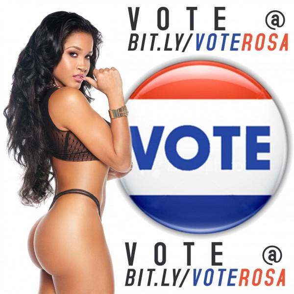 Vote Rosa Acosta @RosaAcosta in Cueropos Hot 2013 Contest