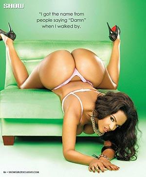 Ms Damn @MsDamn in SHOW Magazine Issue 25