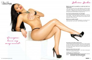 Stephany Romero @Stephany_Romero in SHOW Magazine