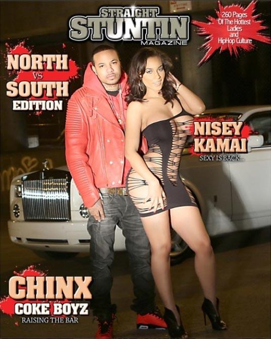 Nisey Kamai @niseykamai and Mercedes Morr @mercedesmorr in cover of Straight Stuntin