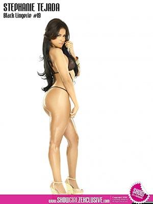 Stephanie Tejada @StephanieTjada in Black Lingerie #19