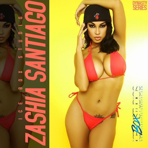 Zashia Santiago @Zashias320: Chicks and Kicks - Ice Box Studio