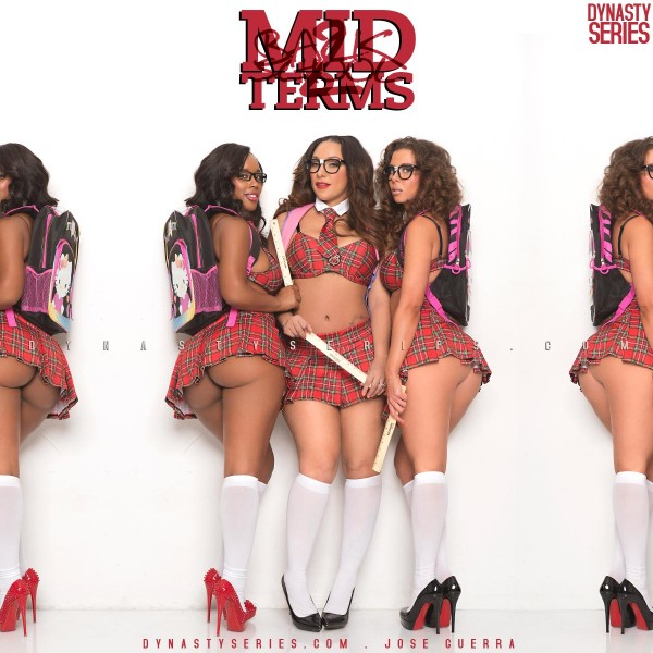 Laura Dore, Model Bubbles and Cat Washington : Midterms - Back to School - Jose Guerra