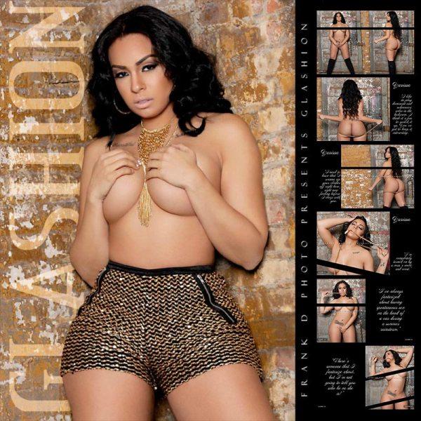 Yarissa G @yarissa_g: Glashion Magazine Previews Part 3 - Frank D Photo