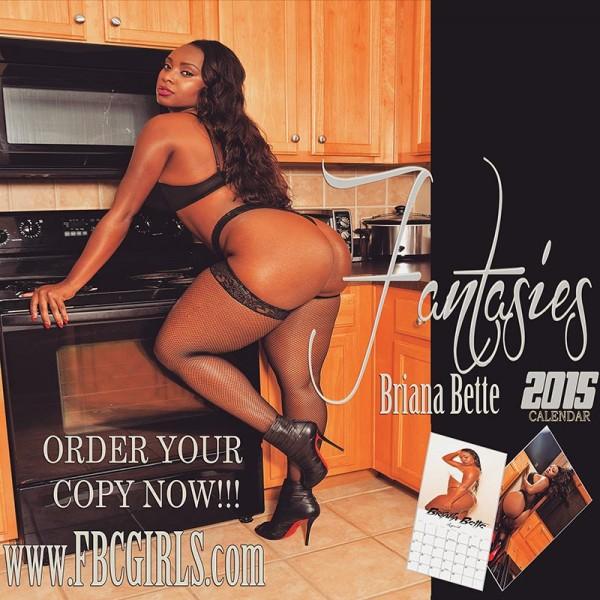 "Briana Bette's @brianabette 2015 ""Fantasies"" Calendar"