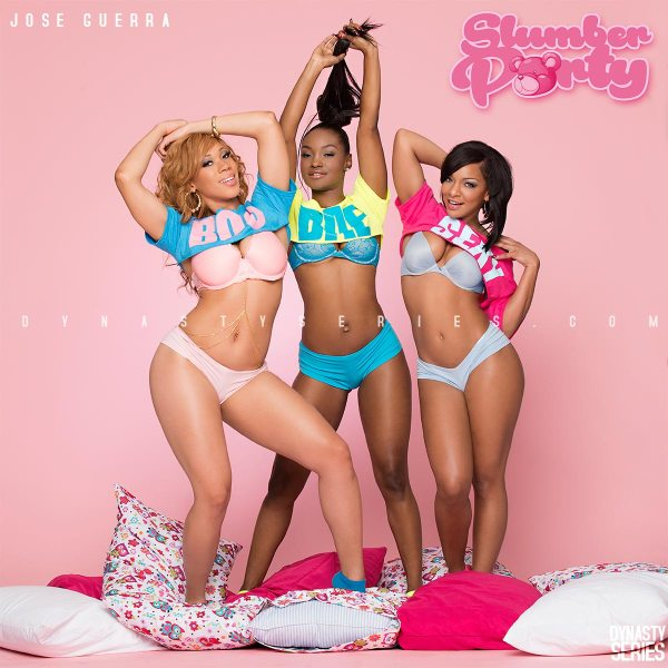 Nikki Renee, Jae Choice, and Nikita Marie: More of Slumber Party - Jose Guerra