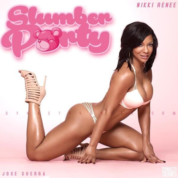Nikki Renee @MsNikki_Renee: More of Lingerie Slumber Party – Jose Guerra