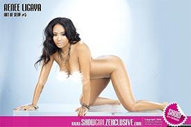 Renee Ligaya @ReneeLigaya in SHOW Magazine - More from Art of Sexy