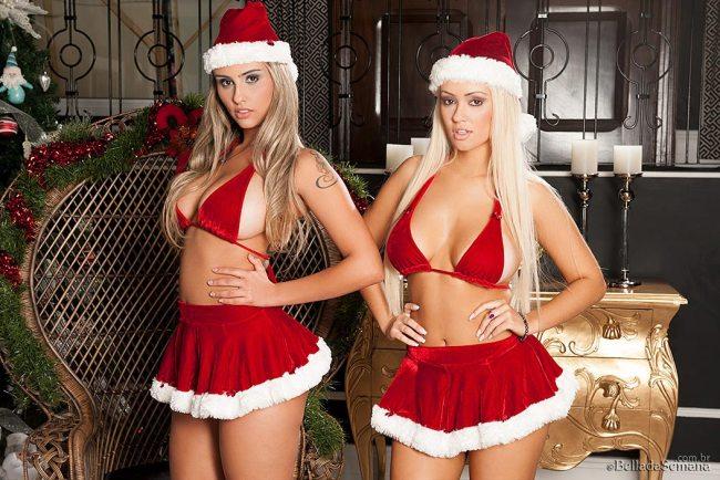 Ellen Sapori and Liziane Soares – More of Christmas in Brazil - BellaClub.com