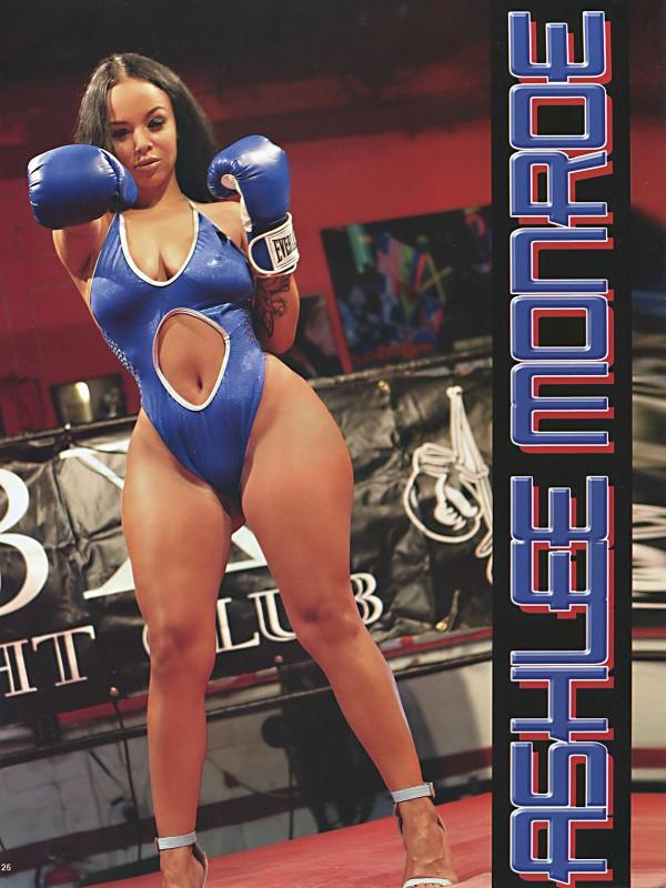 Ashlee Monroe @iamashleemonroe in Straight Stuntin Issue #39
