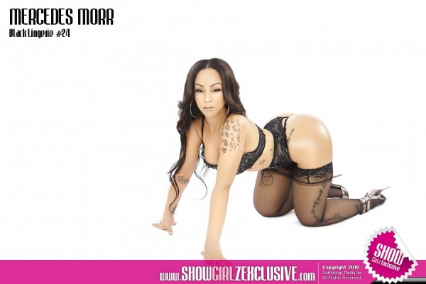 Mercedes Morr @missmercedesmorr in SHOW Magazine