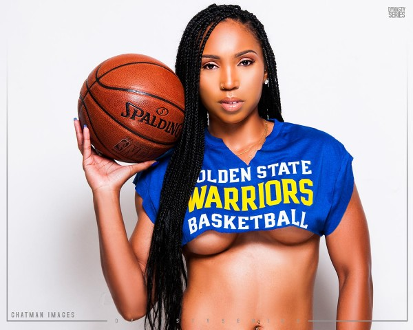 Candice @cmoore_beasta: Golden State in 7 - Chatman Images