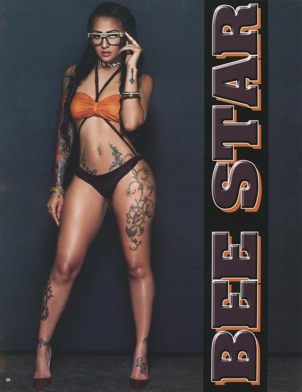 Bee Star @modelbeestarr in Straight Stuntin Issue #40