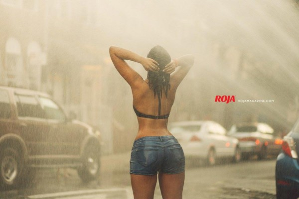 Winnifer in Roja Magazine - Algis Infante