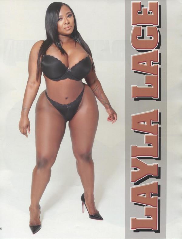Layla Lace in Straight Stuntin Magazine #45