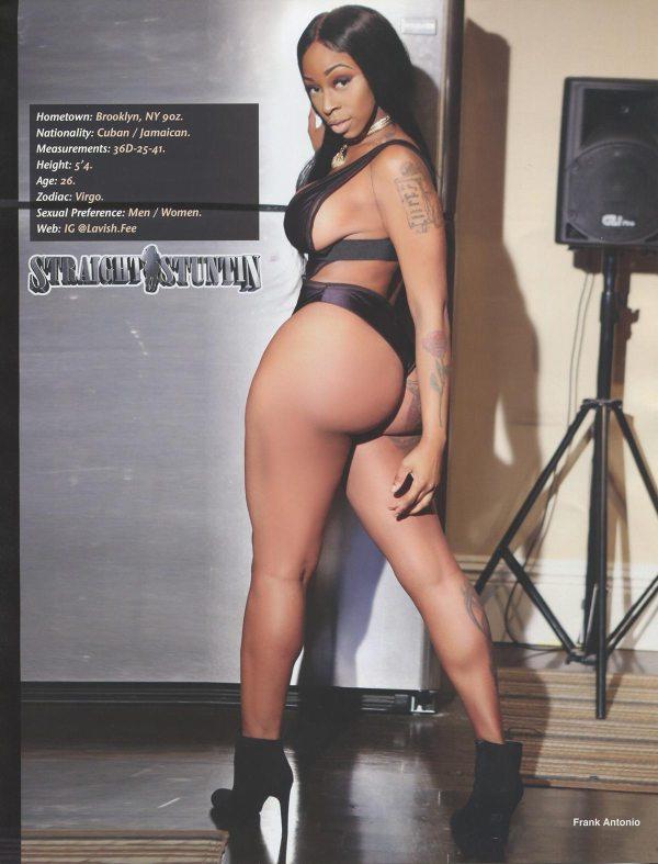 Lavish Fee in Straight Stuntin Magazine #45