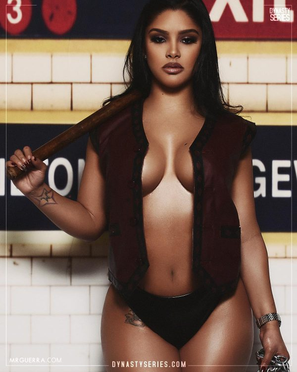 Natalie MC: The Warriors - Jose Guerra x Artistic Curves