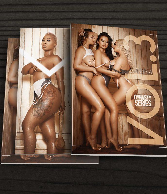 DynastySeries™ Presents Volume 3: Sauna – Cover Girls Sabbina and Bri Nicole