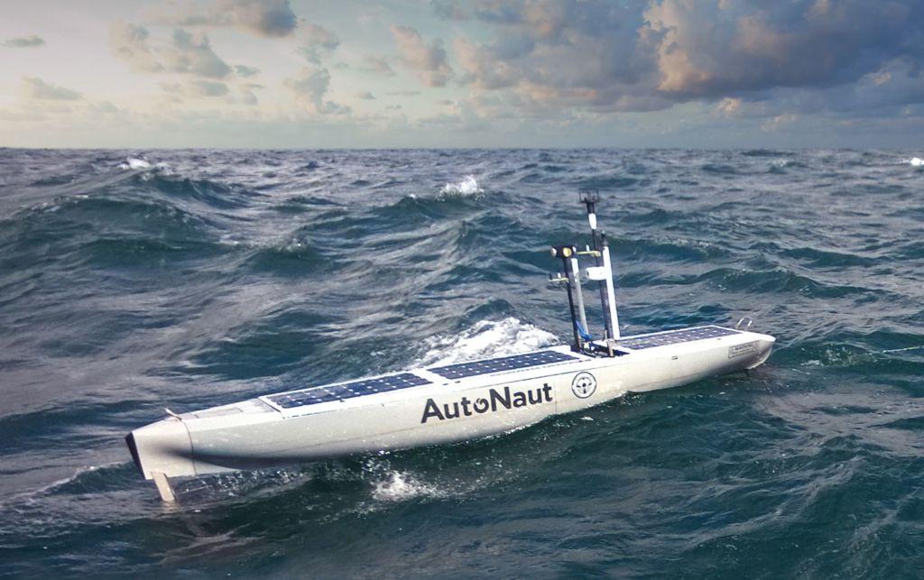 Autonaut using Dynautics platform control system