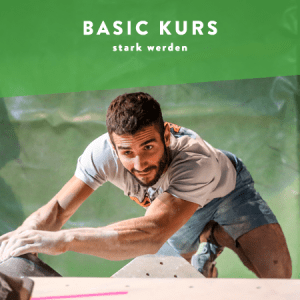 Basic Kurs - Boulderkurse zum stark werden