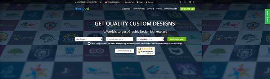 designhill freelance website