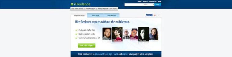 ifreelance website