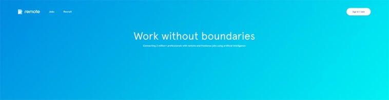 remote freelance website