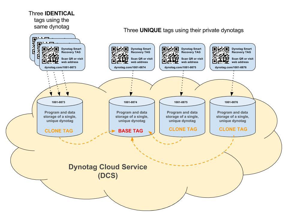 Diagram- Clone dynotags