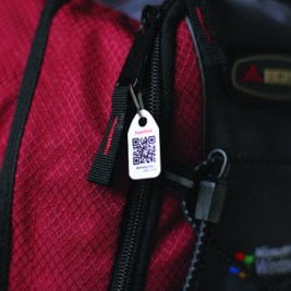 DYNO ZIP RED BACKPACK #5 small