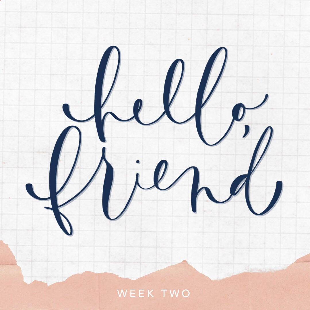 Pen Pals Wanted Week Two