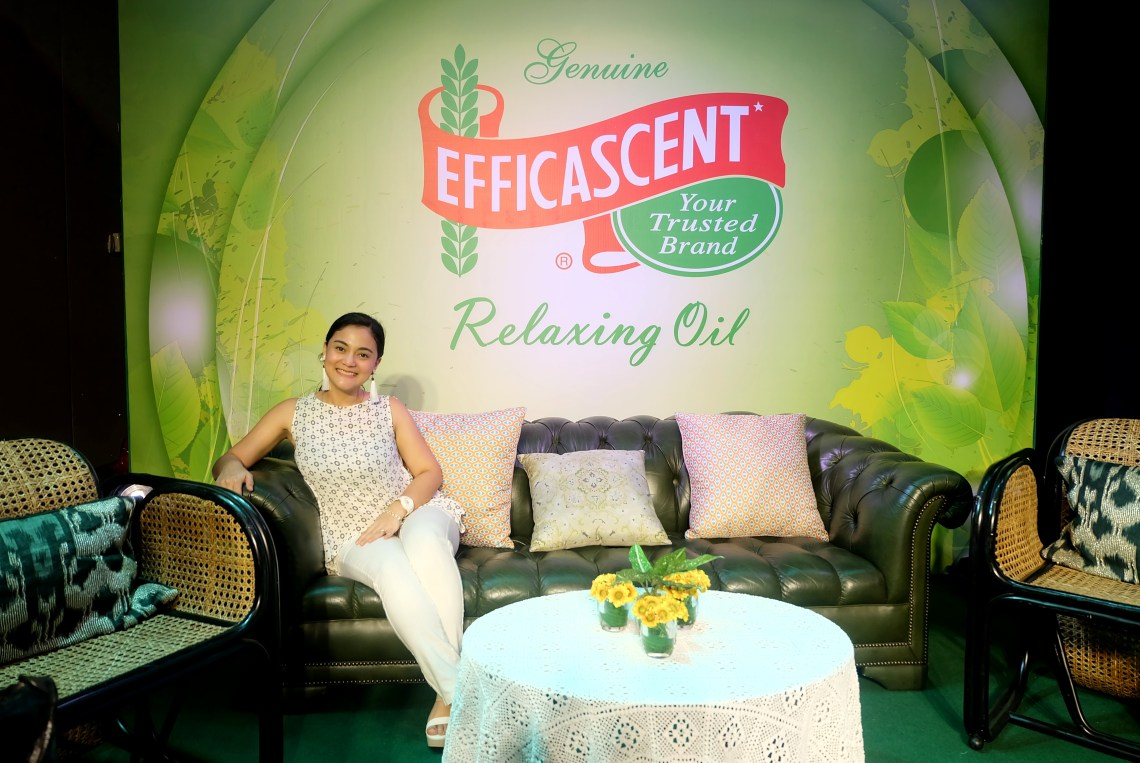 dyosathemomma- Efficascent Relaxing Oil instant pampa-relax with Kaye Abad and Paul Jake Castillo