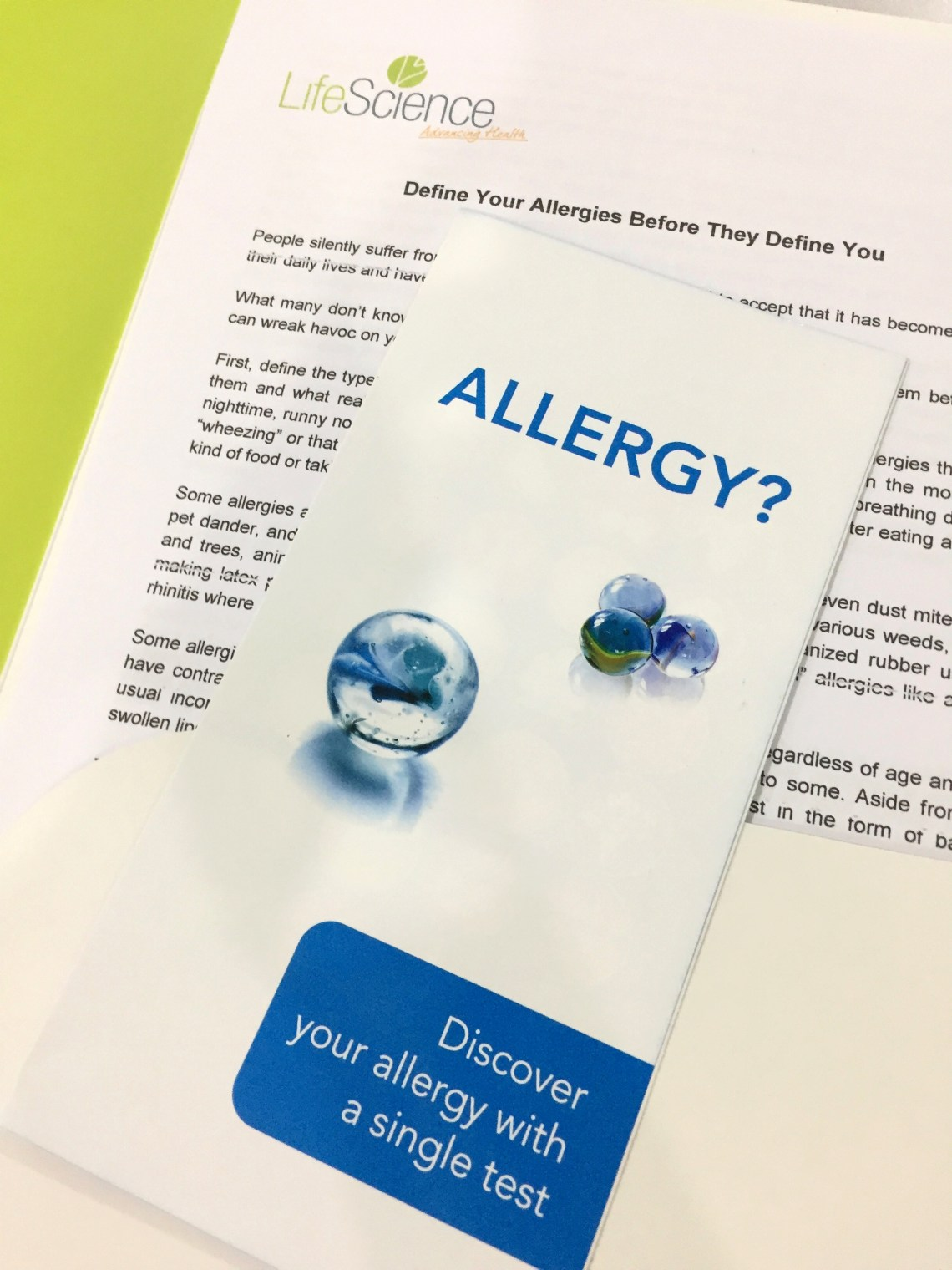 dyosathemomma-LifeScience Faber Test for allergies