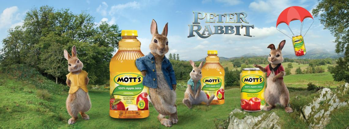 dyosathemomma: Mott's 100% Apple Juice and Peter Rabbit Movie giveaway