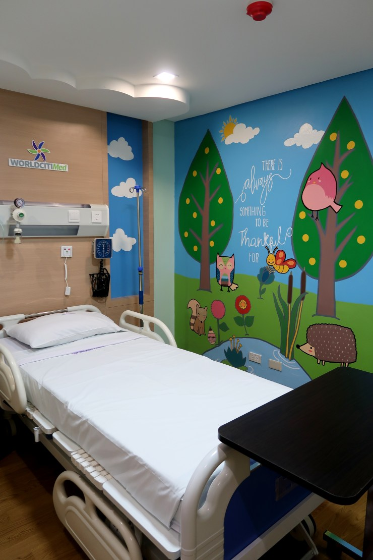 dyosathemomma: World Citi Med Pediatrics Floor,