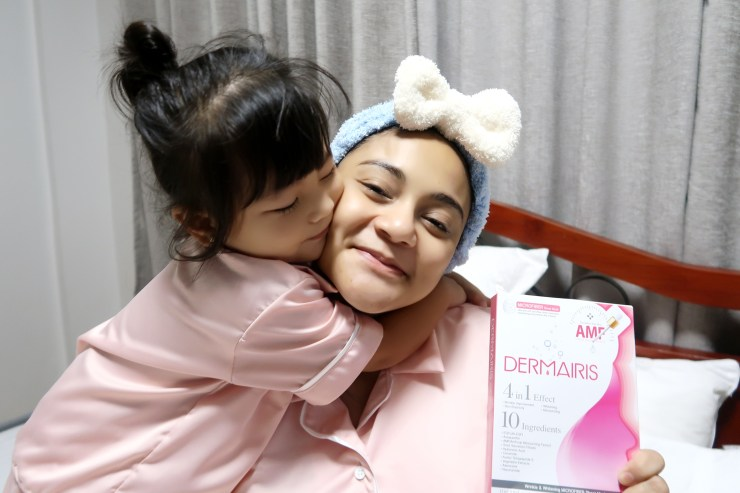 dyosathemomma: Dermairis Korean Face Mask, night beauty regimen for moms and pregnant women, AmariaNish