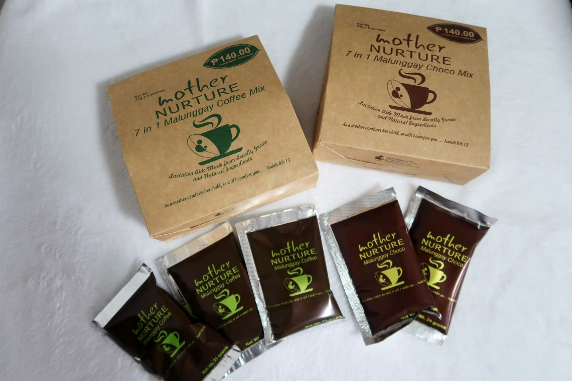 dyosathemomma: Top Breastfeeding Essentials, Mother Nurture Malunggay Coffee and Choco Mix