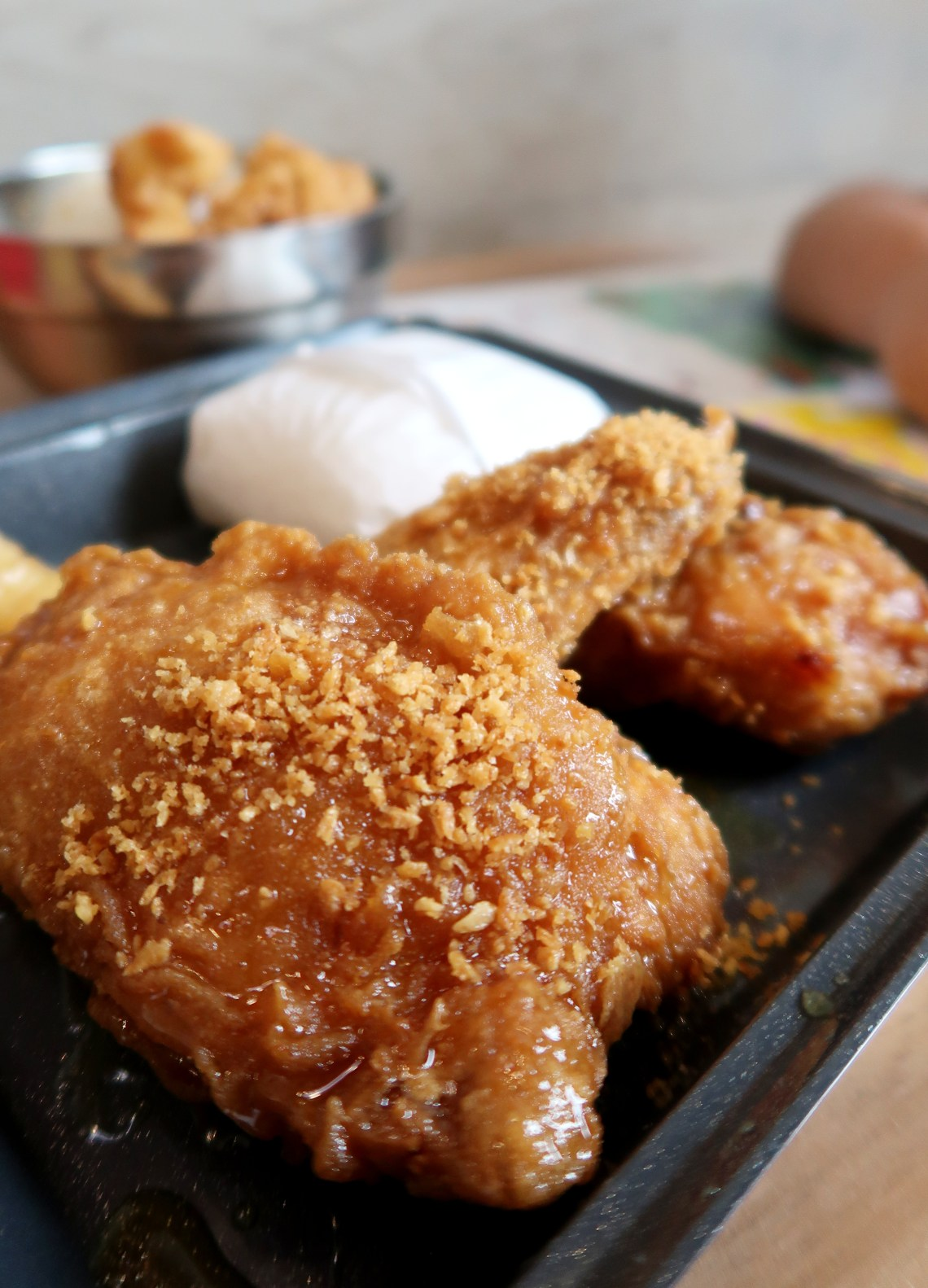 dyosathemomma: Bonchon Kiddie Adventure Meal Promo, soy garlic chicken