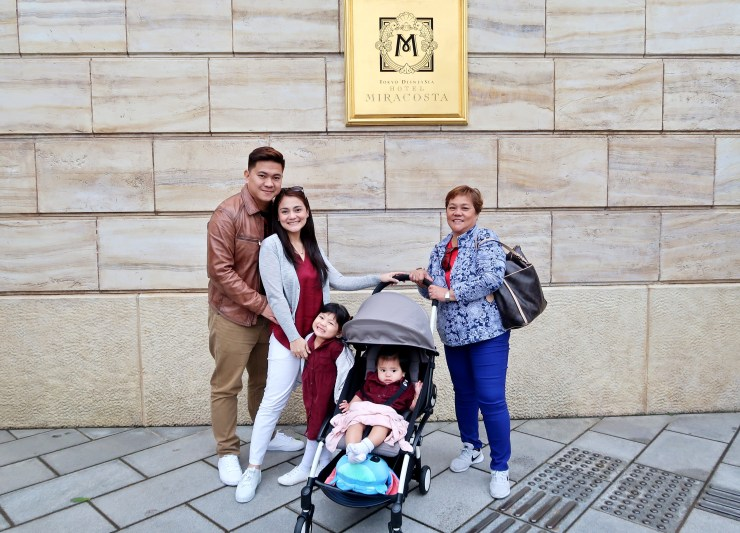 dyosathemomma: Babyzen YOYO+ Stroller Review, traveling to Japan with kids, mommy blogger, Tokyo DisneySea Hotel Miracosta