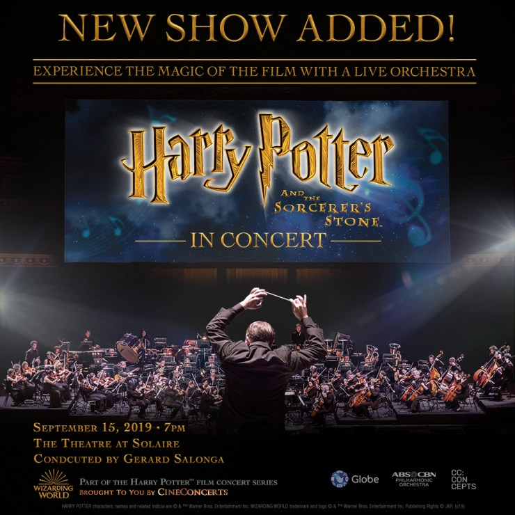 HP1 New Show Added!