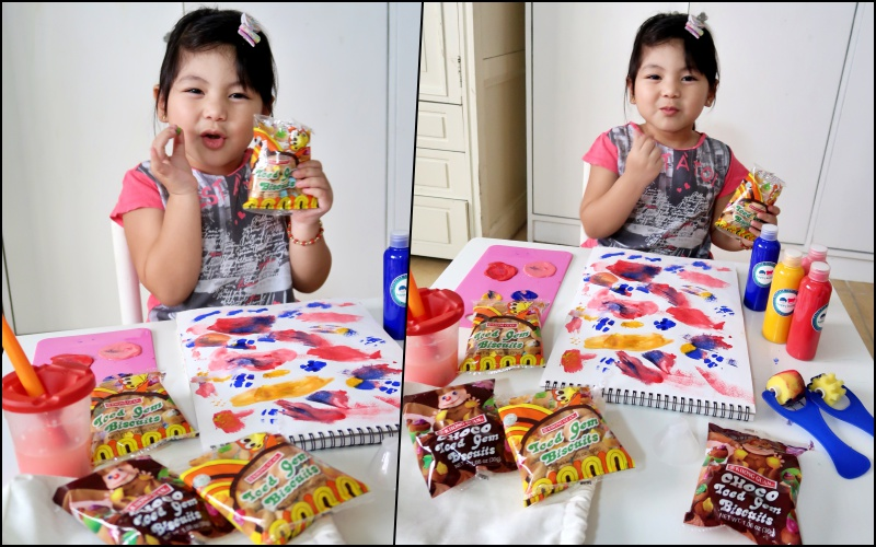 dyosathemomma-Iced Gem Biscuits-art activity-AmariaNiszha