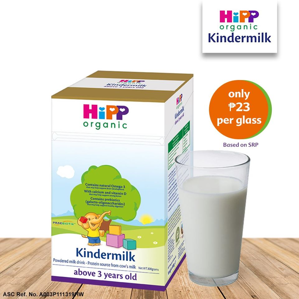 dyosathemomma: HiPP Organic Kindermilk review, mommy blogger ph