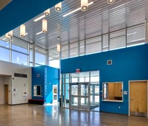 IAIA Multipurpose Performing Arts & Fitness Center Lobby