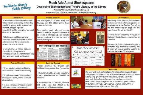 Haliburton - Much ado about Shakespeare