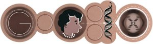 Today's Google Doodle for a very creative maker!