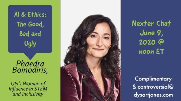 June 9: Nexter chat with Phaedra Boinodiris – AI & ETHICS