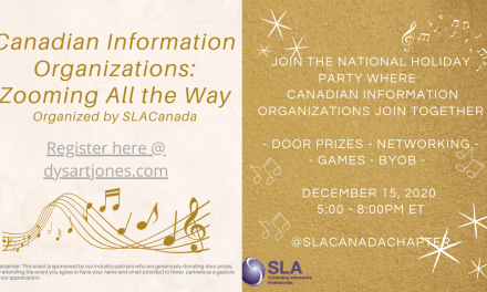 SLACanada Invites you to the Canadian Holiday Gathering